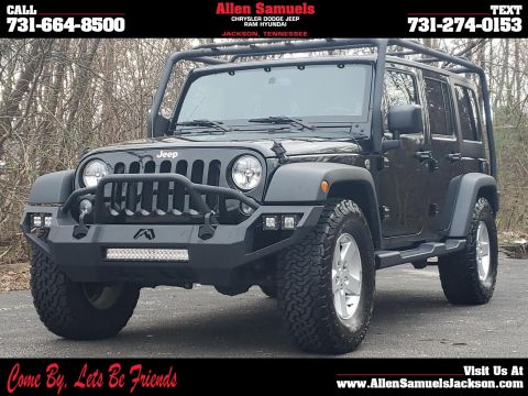 Pre-Owned 2017 Jeep Wrangler Unlimited Sport 4x4 4WD Sport Utility