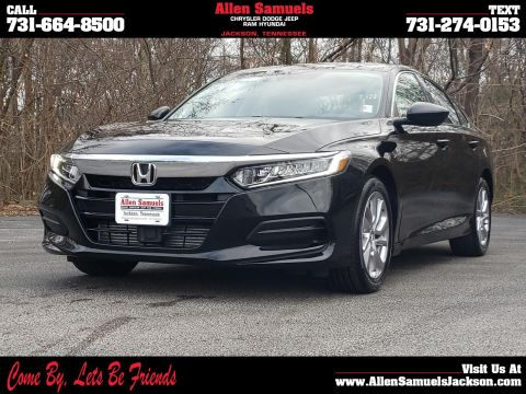 Pre-Owned 2019 Honda Accord LX 1.5T CVT FWD 4dr Car