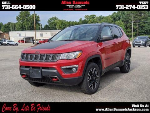Pre-Owned 2020 Jeep Compass Trailhawk 4x4 4WD Sport Utility