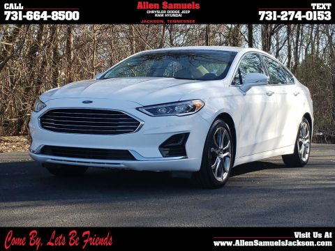 Pre-Owned 2019 Ford Fusion SEL FWD FWD 4dr Car
