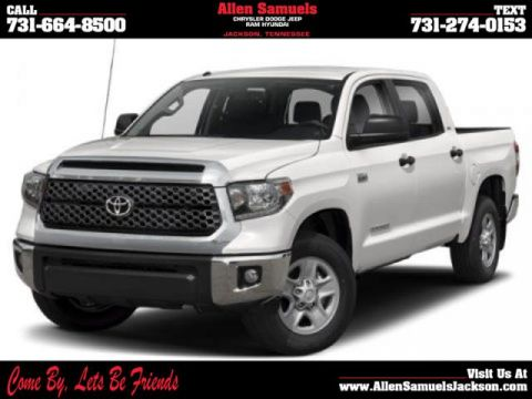Pre-Owned 2019 Toyota Tundra SR5 CrewMax 5.5' Bed 5.7L FFV 4WD Crew Cab Pickup