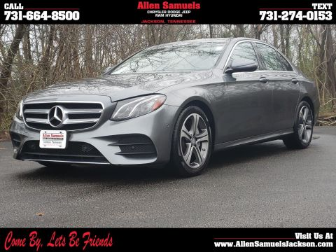 Pre-Owned 2017 Mercedes-Benz E-Class E 300 Sport 4MATIC® Sedan AWD 4MATIC 4dr Car